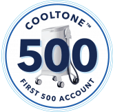 CoolTone 500 First 500 account logo